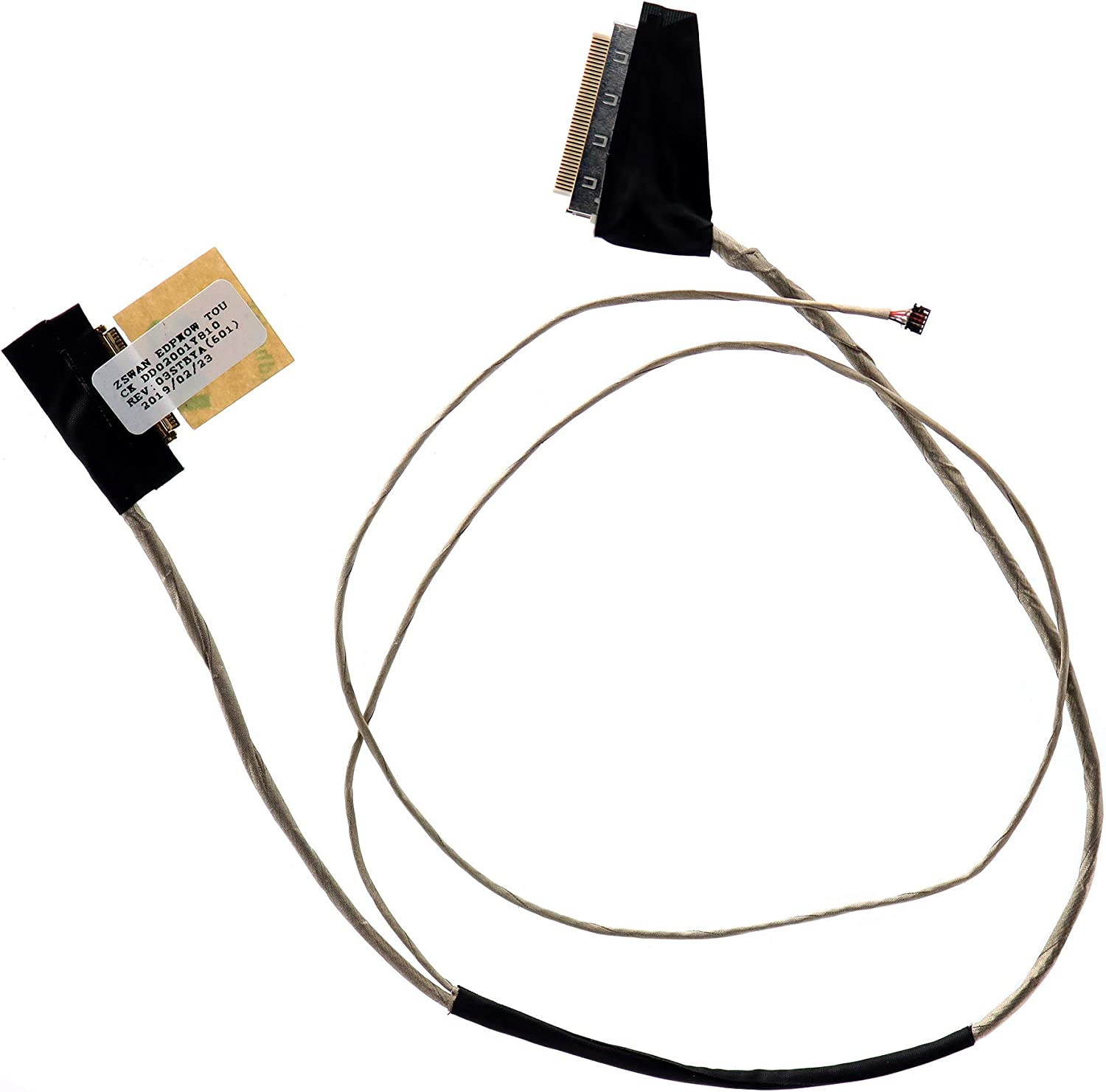 Deal4GO LCD Lvds Cable eDP Flex Cable for Acer Aspire E5-571 E5-571G E5-551 E5-531 E5-521 E5-511 V3-572 V5-572 TravelMate P256-M P256-MG DC02001Y910