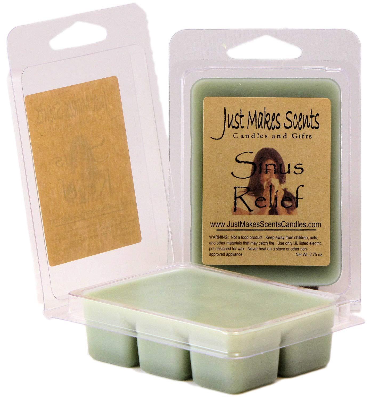 2パック – Sinus Relief ( Vicks Vapor Rubタイプ)香りつきワックスMelts by Just Makes Scents B00NPAE3M8