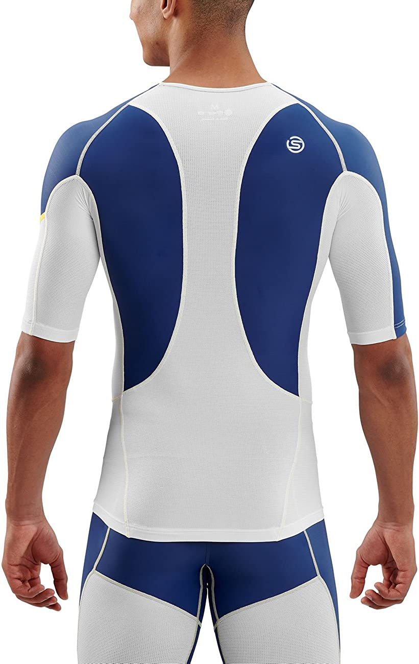 Skins Mens DNAmic Ultimate Cooling Short Sleeve Top