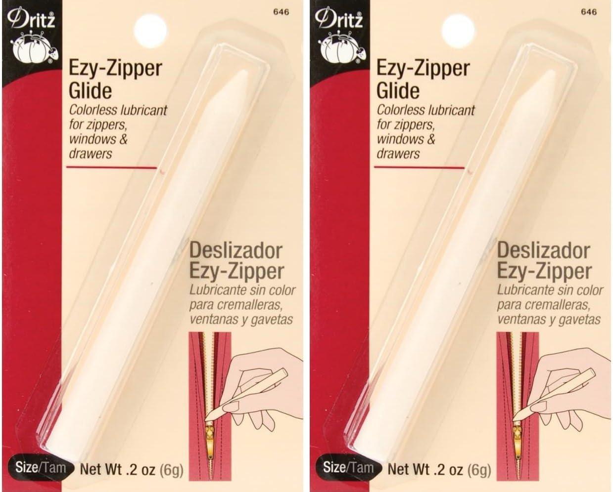 Dritz 646 Ezy Zipper Glide (2 Pack)
