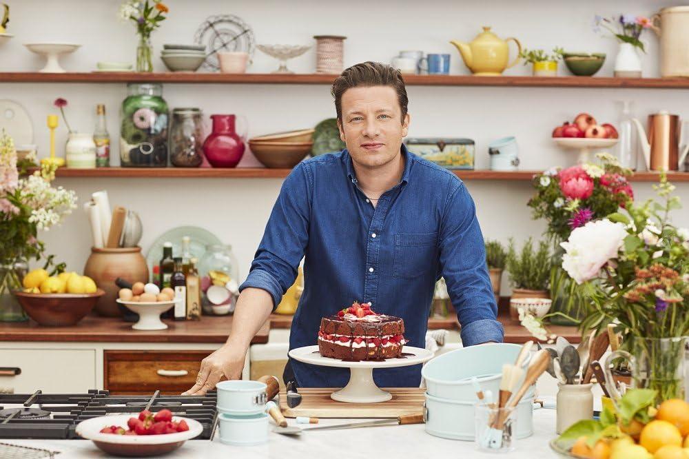 Jamie Oliver Antiaderente Rotondo per Torta Colore: Blu 9/ /23/cm apribile