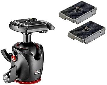 Manfrotto XPRO magnesio de recambio para cámara con cabeza esférica plataformas de liberación rápida para RC2 Rapid Connect adaptador: Amazon.es: ...