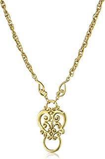 product image for 1928 Jewelry Silver-Tone Heart Eyeglass Holder Pendant Necklace, 28""