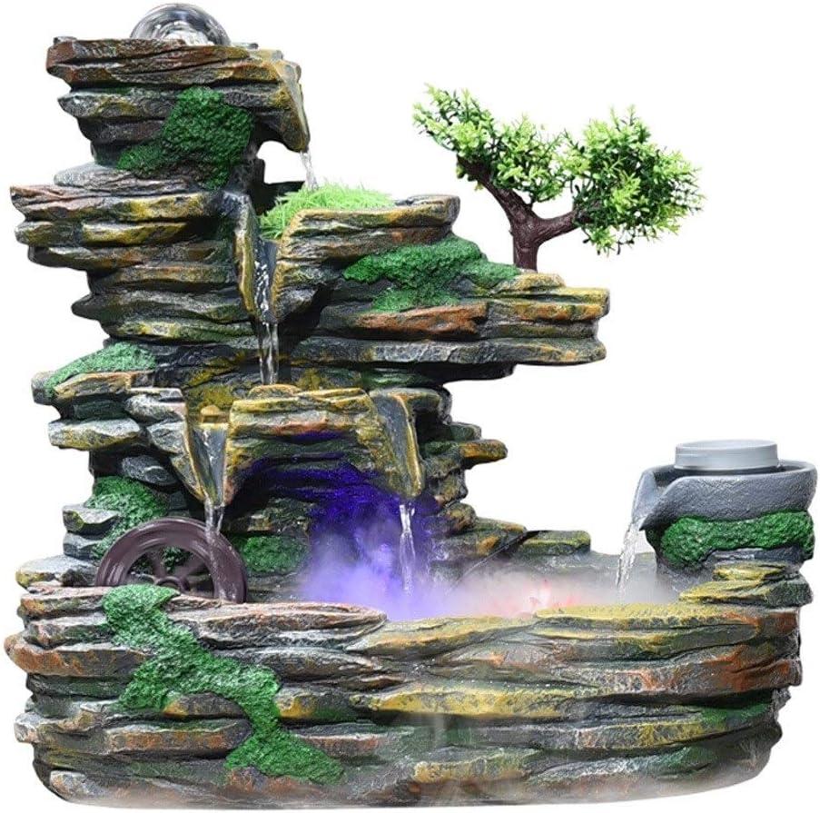 Amazon.de: LOFAMI Zimmerbrunnen Wohnaccessoires Steingarten Wasser