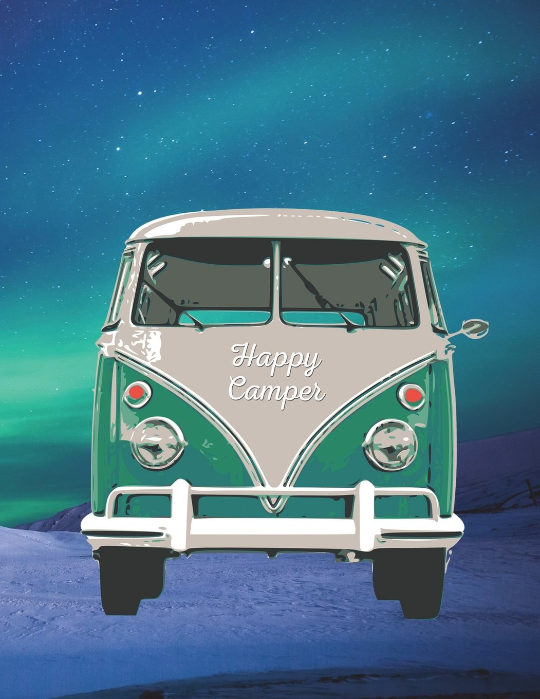 Download Happy Camper: 8.5 x 11 Fun Journal College Ruled Paper Notebook, Appreciation Gift, Quote Book or Diary ~ Unique Inspirational Gift for Independent ... Authors, Friends, Teachers or Artists pdf epub