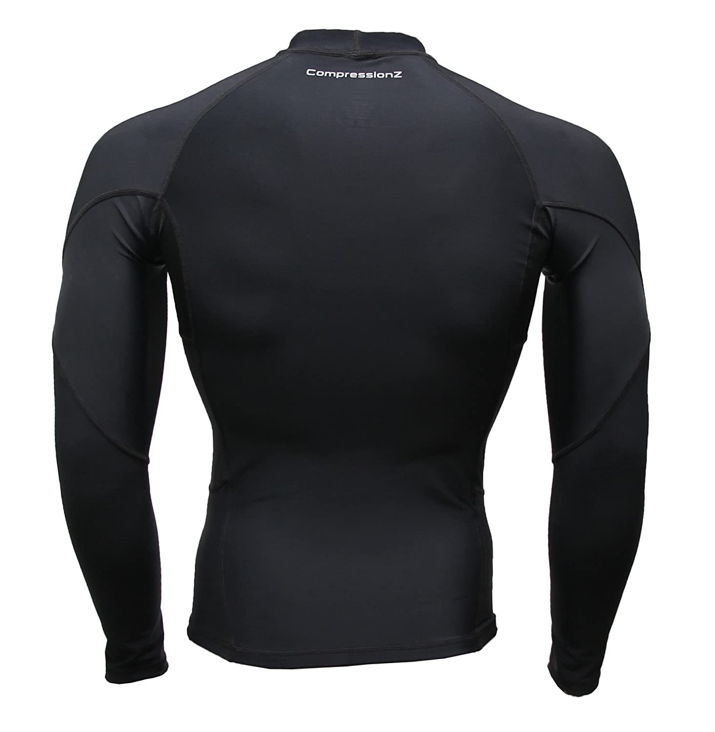 024c3ba66afb CompressionZ Men s Long Sleeve Compression Shirt - Performance Base Layer  for Fitness