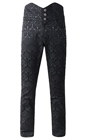 Men's Steampink Pants & Trousers DarcChic Mens Obscura Trousers Pants Steampunk VTG Gothic Victorian $61.00 AT vintagedancer.com