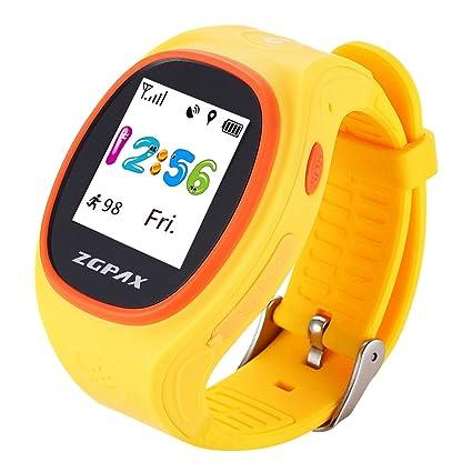 ukcoco S866 – Pulsera de seguimiento GPS reloj inteligente lbs localización de los niños de respuesta