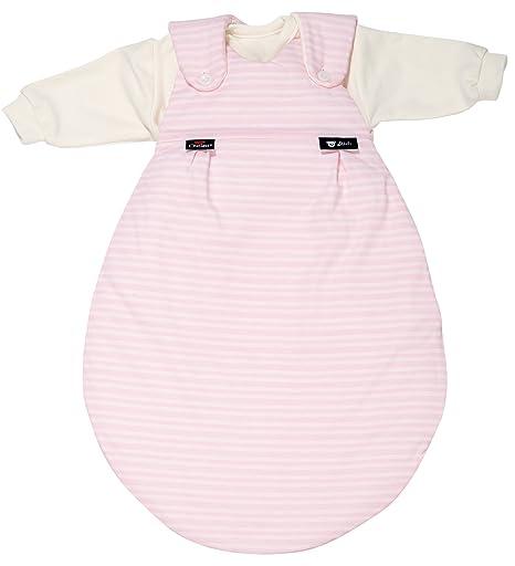 Saco de dormir Outlast rayas rosa Talla 56/62 – Juego de saco de dormir