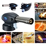 Butane Gas Powered Blowtorch Cooking Catering Creme Brulee Culinary Tarts Pies Tool