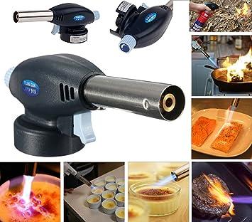 Butan Gas Powered Lotlampe Kochen Gastronomie Creme Brulee Culinary