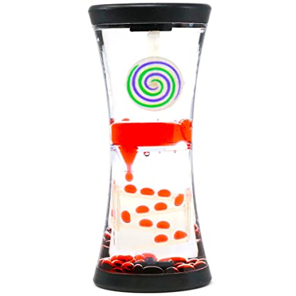 Hypnotic Liquid Motion Spiral Timer Toy for Sensory Play - Relaxing Bubble  Motion Autism ADHD Fidget Toy  Amazon.in  Toys   Games 8e22aa355e