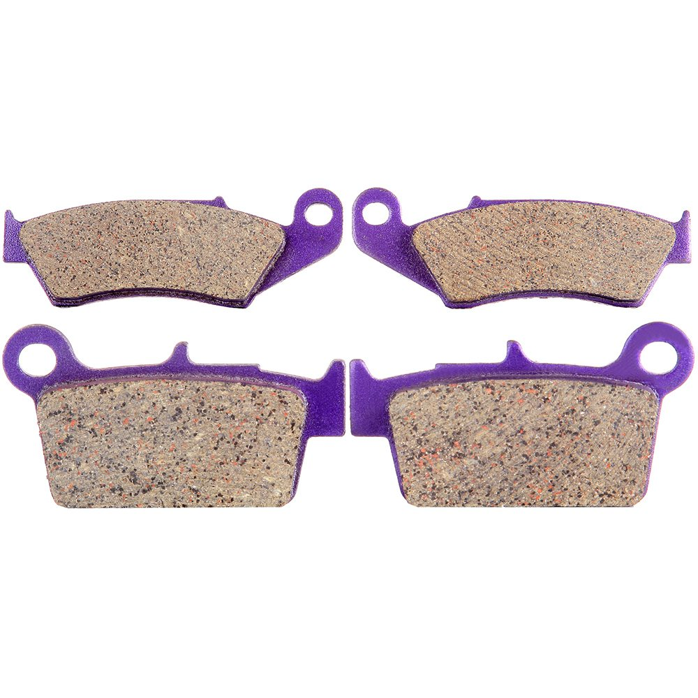 Front and Rear Kevlar Carbon Brake Pads for 2005-2011 2009 2010 Suzuki RMZ450 SCITOO 991242-5206-1347491