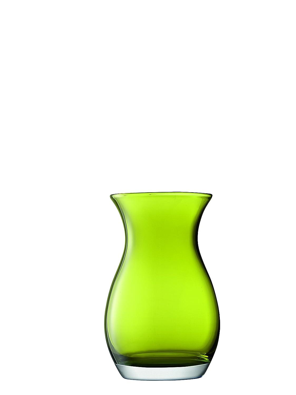 LSA International Flower colour Posy Vase H20cm Amber G1306-20-835
