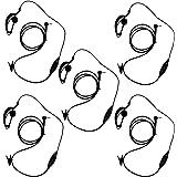 KEESN G forme clip-ear Casque Oreillette/micro pour MOTOROLA Talkabout 2 Talkie Walkie Radio 2 voies 1 broche 100–0