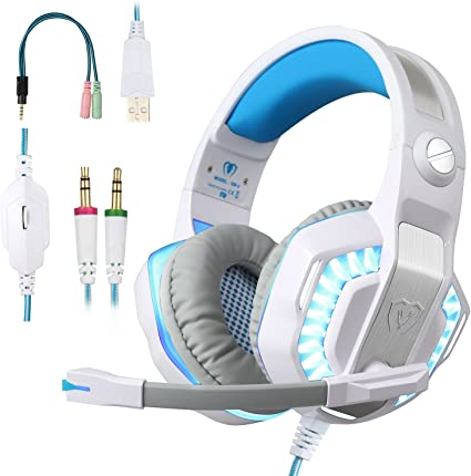 Pro Premium 3.5mm PS4 Gaming Headset Headphone with Mic and LED Lights for PS4