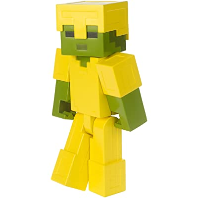Minecraft Armored Zombie Large Figure: Toys & Games [5Bkhe1611225]