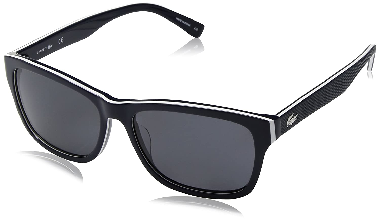 4acda58ca9a Amazon.com  Lacoste L683sp Polarized Square Sunglasses