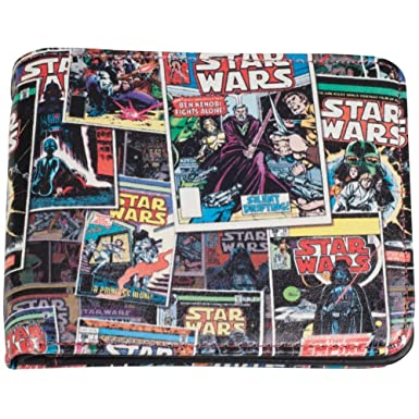 Amazon.com: Star Wars – Comic Book Collage cartera: Clothing