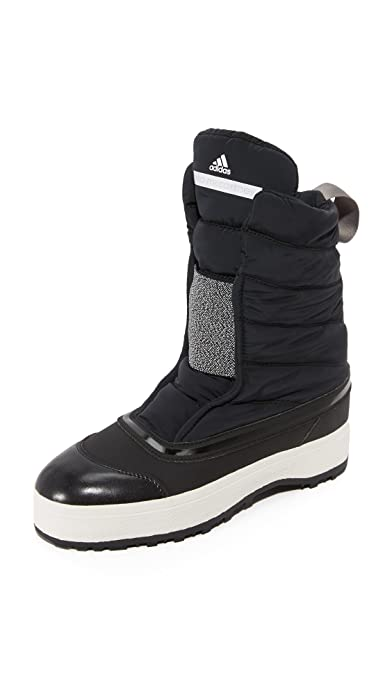 f7e363155875d adidas by Stella McCartney Women's Winter Boots, Black/White/Granite, 5 B