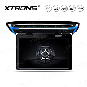 XTRONS 10.2 Inch Digital TFT Screen 1080P Video Car Overhead Player Roof Mounted Monitor HDMI Port