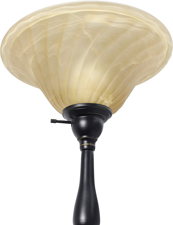 Elegant Designs LF2003-RBA 3 Light Floor Lamp Restoration Bronze