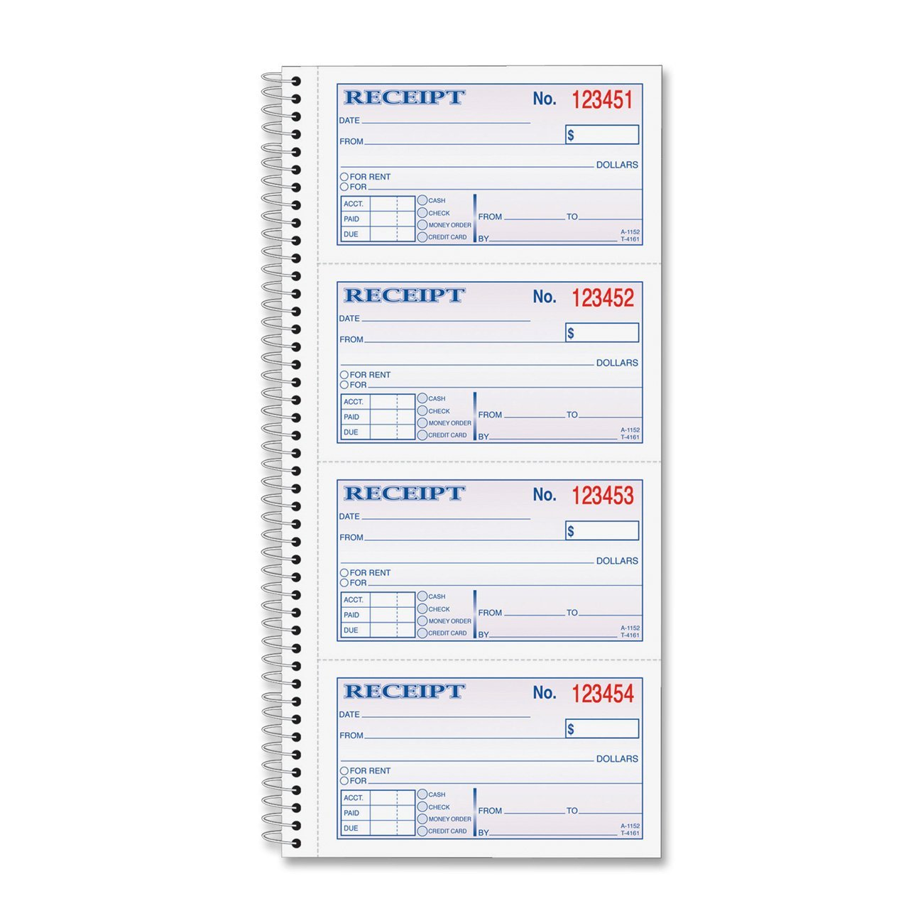 rent receipt book template free format for receipt format for ...