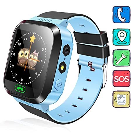 Amazon.com: Kids Watch, Camera Kids Smartwatch, GPRS+LBS ...