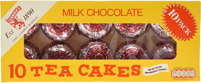 Tunnocks Milk Chocolate Teacakes 10 Pack : Amazon.co.uk: Grocery
