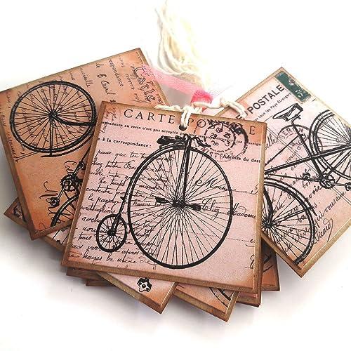 Adorebynat Party Decorations - EU Bicicleta Etiquetas para Regalo ...
