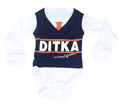 9543e544 Ditka Kids Gridiron Clothing Baby Da Coach Vest Onesie Long Sleeve