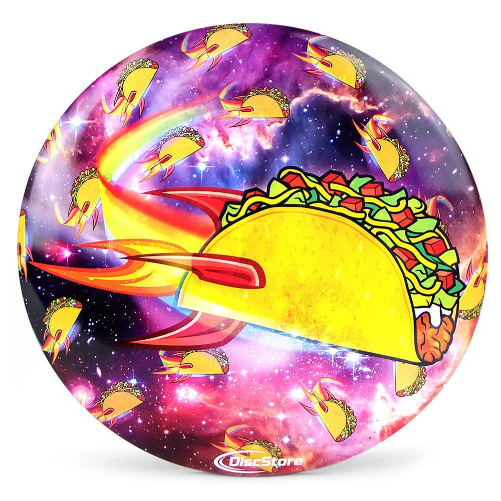 Discraft ESP Buzzz Supercolor Disc Golf Midrange Flying Disc Plus FREE Mini Marker - Galaxy Taco by Disc Store