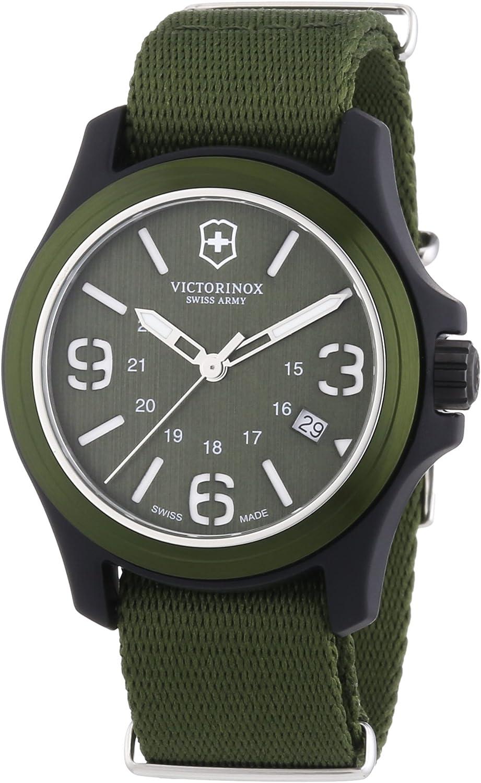 Victorinox Swiss Army Men's 241514 Original Green Dial and Strap Watch Watch