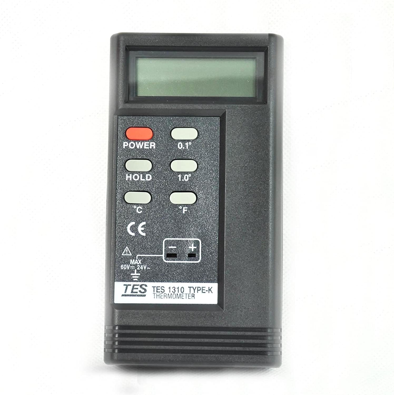 eDealMax -50-200C DC 60V 24V AC K Tipo de pantalla LCD Sensor de temperatura del termómetro Digital: Amazon.com: Industrial & Scientific