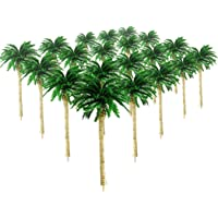 20Pcs Palmeras de Coco Modelo de árboles Diseño