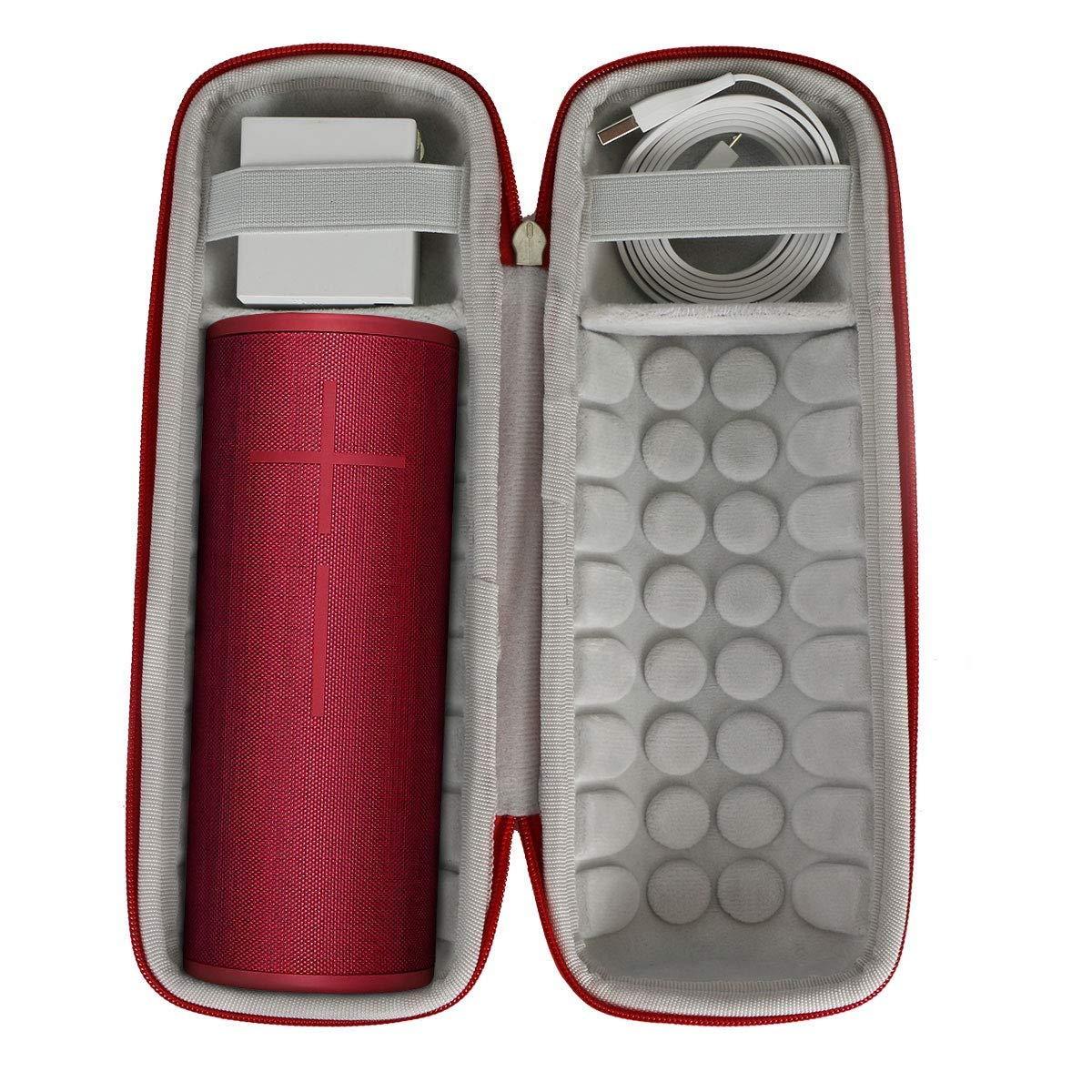 per Ultimate Ears UE Boom 3 Altoparlante Wireless Bluetooth EVA Borsa da viaggio Custodia caso scatola di Khanka Blu