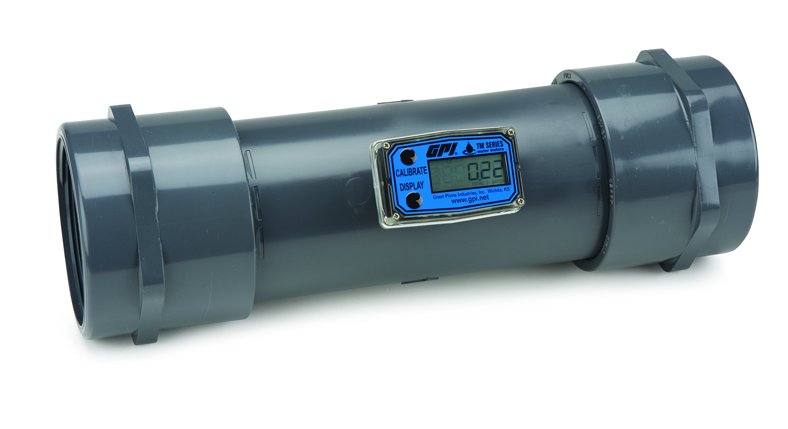 Turbine Flowmeter/Totalizer with Display, 60 to 600 GPM; 4'' NPT(F)