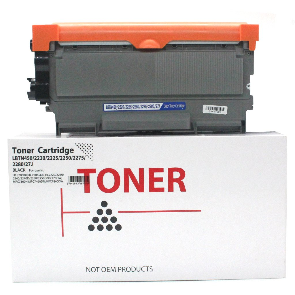 Papel láser cartucho de tóner compatible para Brother TN450 TN420 ...