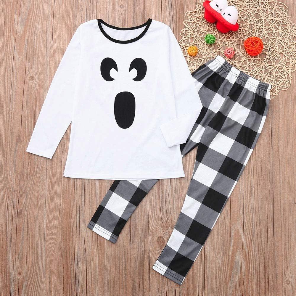 Homewear - Pijama de manga larga para adulto y niño, color ...