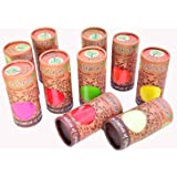 VR Creatives™ Organic Herbal Gulal Holi Colour rang Natural Skin Friendly Scented Set of Any 3