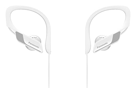 Panasonic Wings RP-BTS10-W - Auriculares Deportivos In-Ear con Bluetooth,