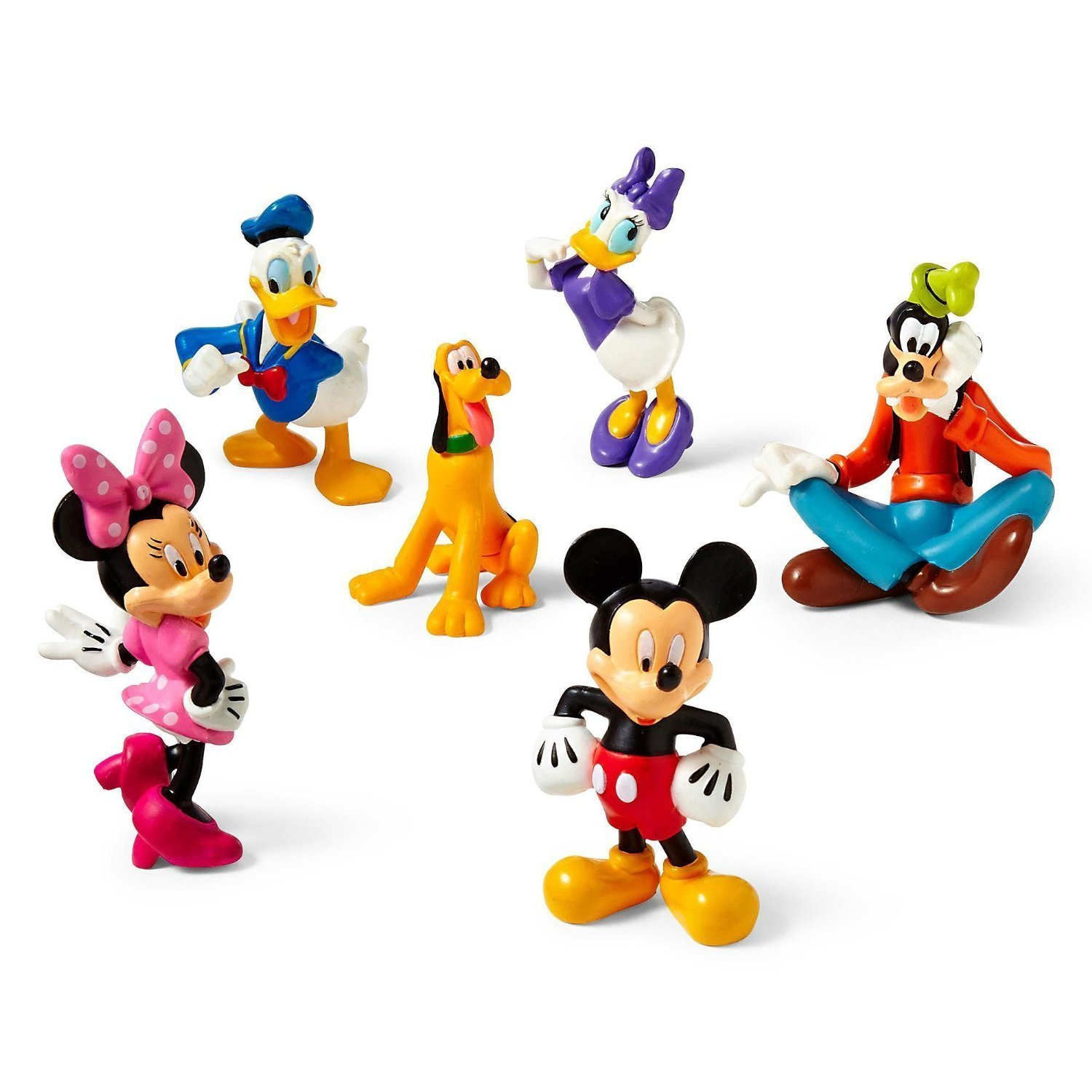 Amazon Disney Mickey Mouse Clubhouse Figure Play Set 6 Pc