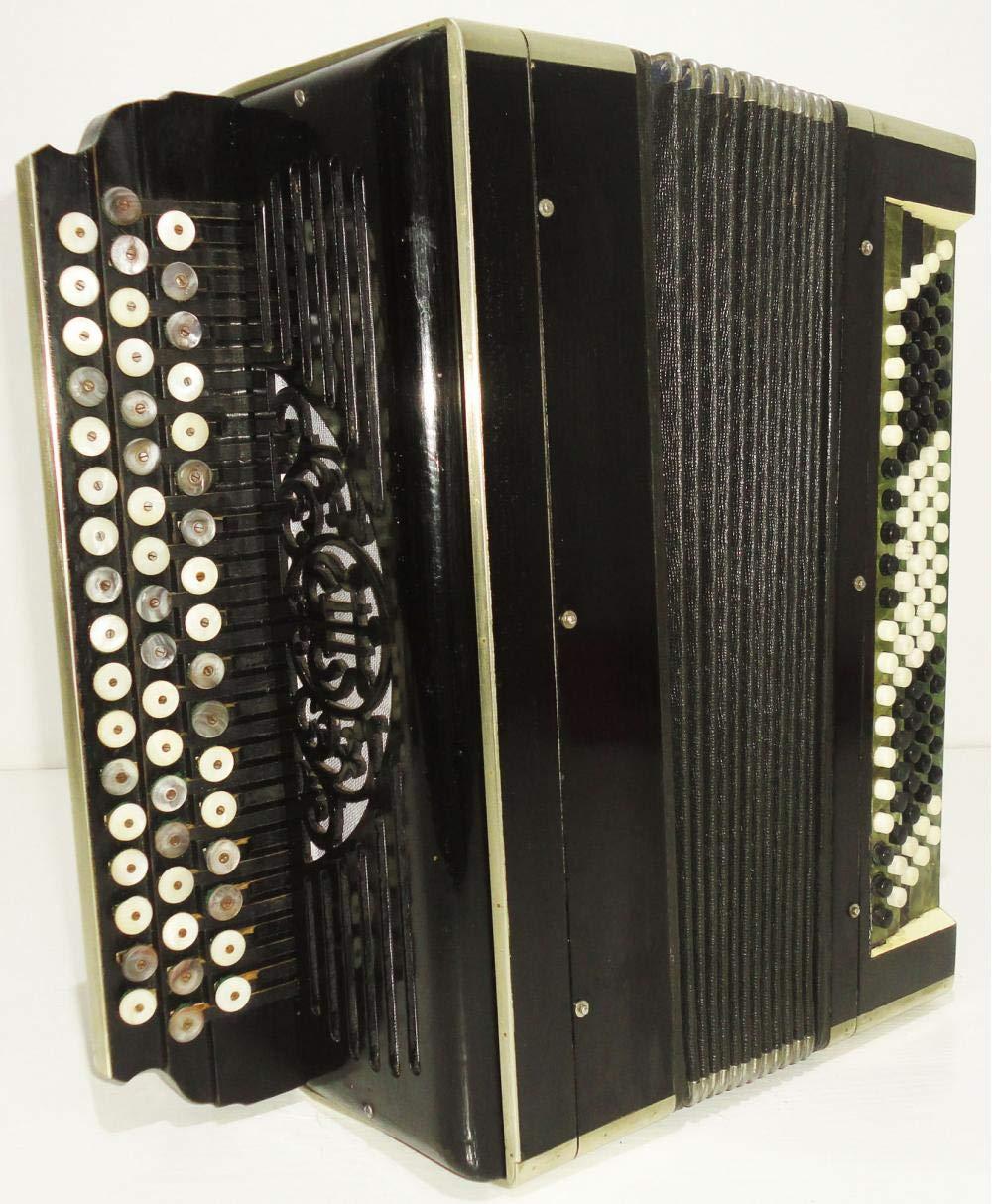 Amazon.com: Antique Bayan Tula Tulskiy 100 Bass + Case ...