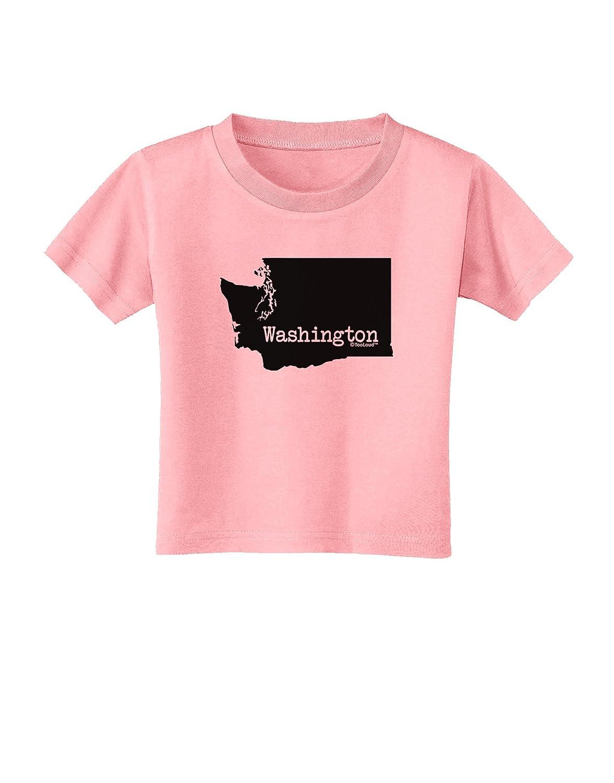 TooLoud Washington United States Shape Toddler T-Shirt