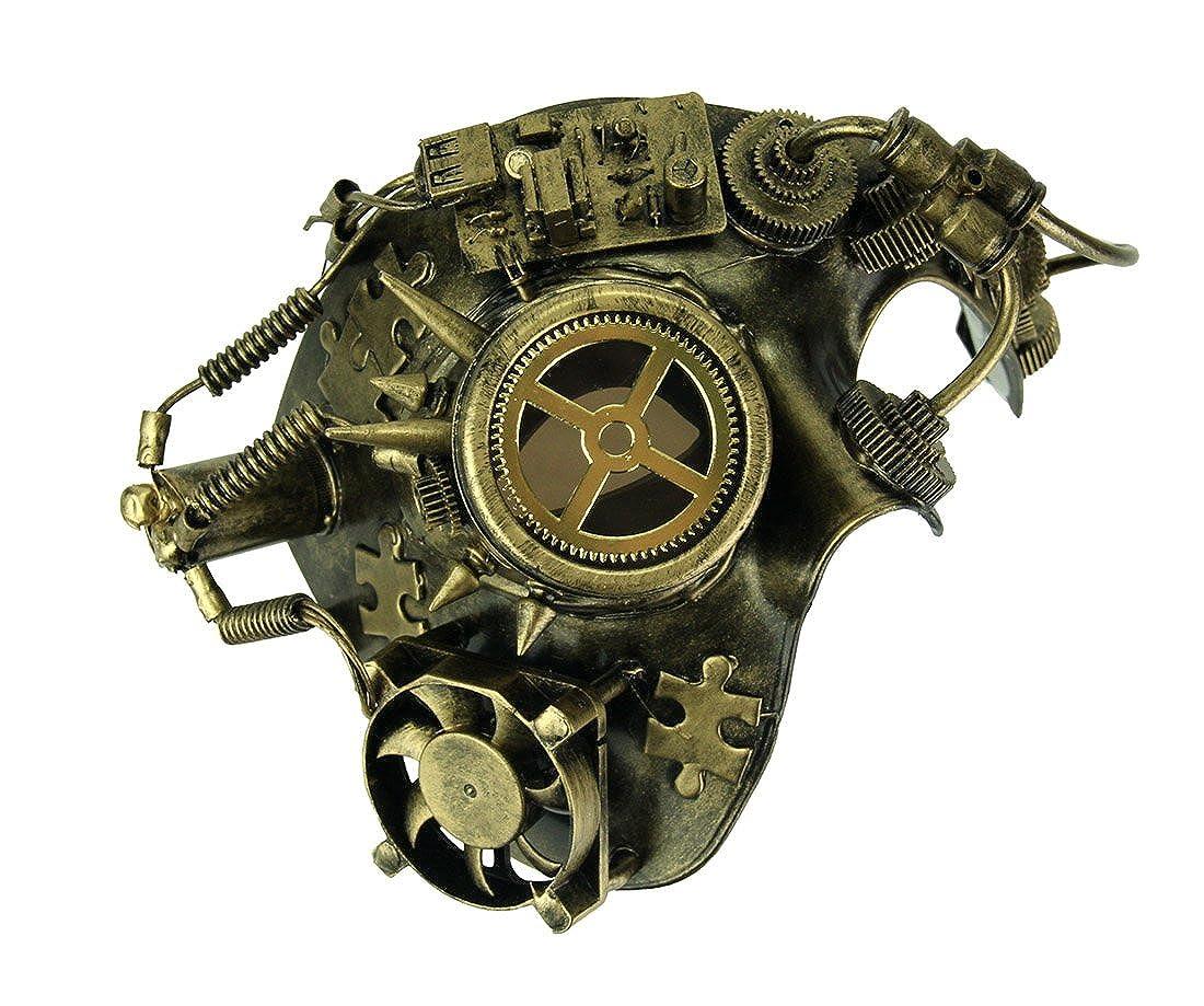 Amazon.com: Kbw con clavos de oro metálico steampunk Phantom ...