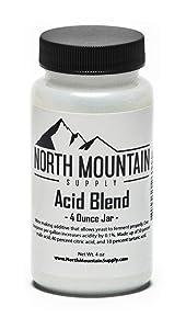 North Mountain Supply - AB-4oz Food Grade Acid Blend - 4 Ounce Jar