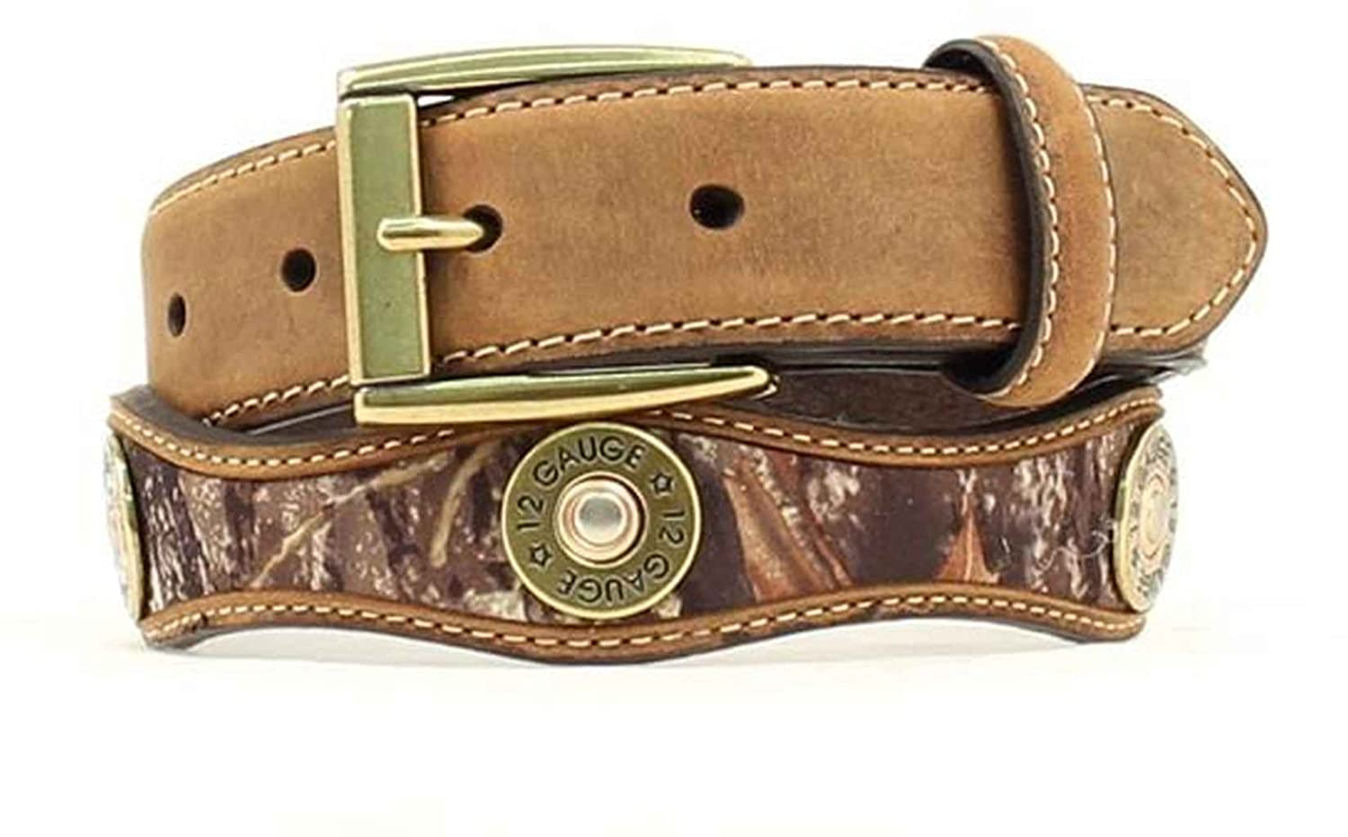 Nocona Boy's Mossy Oak Shotgun Shell Conchos Belt