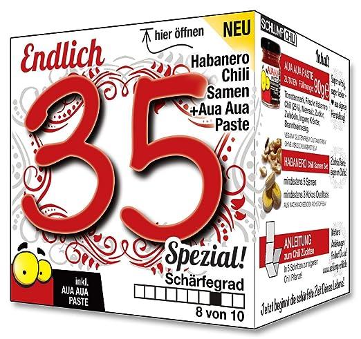 Endlich 35 SPEZIAL - Eine tolle Geschenkidee zum 35