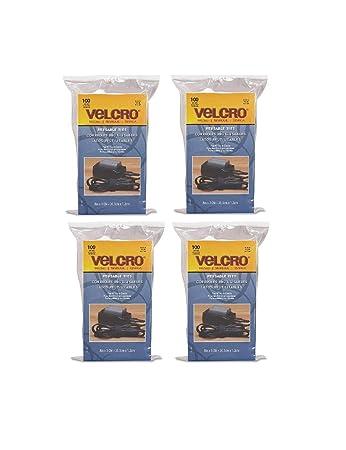 velcro brand one wrap thin ties black 8 x 12inch