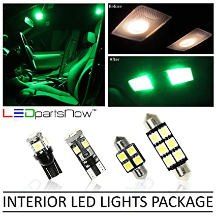 Amazon.com: LEDpartsNow LED Interior Lights Accessories Package Replacement  Kit For 2010 2015 Chevy Camaro (4 Bulbs), GREEN: Automotive